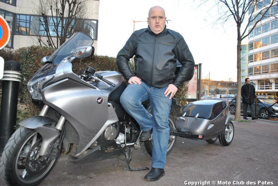 Blouson cuir moto pour les gros